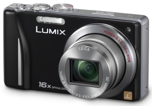 Panasonic Lumix DMC-TZ18EG-K Digitalkamera (14 Megapixel, 16-fach opt. Zoom, 7,5 cm (3 Zoll) Display, bildstabilisiert) schwarz