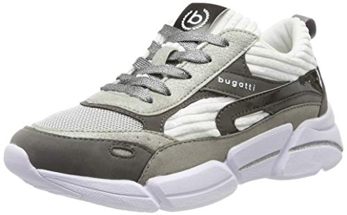 bugatti Damen 432668015959 Sneaker, Grau (Grey/White 1520), 36 EU