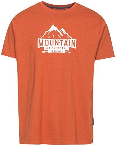 Trespass Peaked T-shirt met opdruk voor heren