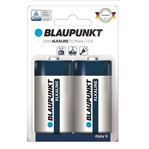 Blaupunkt 2X batería alcalina LR20D Mono 1,5V