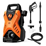 Paxcess Portable Pressure Car Washer, 1750 PSI 1.6GPM Electric Power...