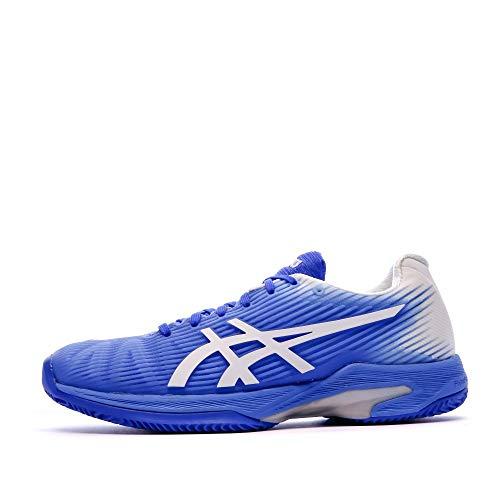 ASICS Damen Solution Speed Ff Clay Tennisschuhe, Bleu Àlectrique Blanc, 40,5 EU