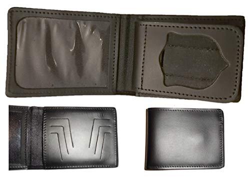Portafoglio in cuoio Polizia di Stato con porta tessere e porta placca estraibile 1WE86 Vega Holster