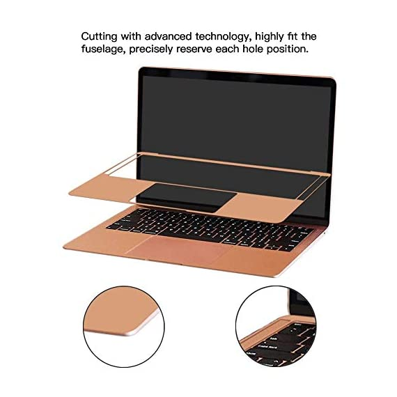 Palm Rest Cover Skin and Trackpad Protector Compatible with 2019 2018 MacBook Air 13-Inch Model A1932 with Touch Id… 7 Specially Design For 2016 2017 2018 2019 Released MacBook Pro 15 with touch bar model A1707 A1990 Prevent your new MacBook to avoid scratches by watch, buckles, jewelry and other metal objects Airflow Design, easy to uase with no bubble, renew the worn-out palm rest, It's a great way to update your worn-out palm rest with a different fresh new look