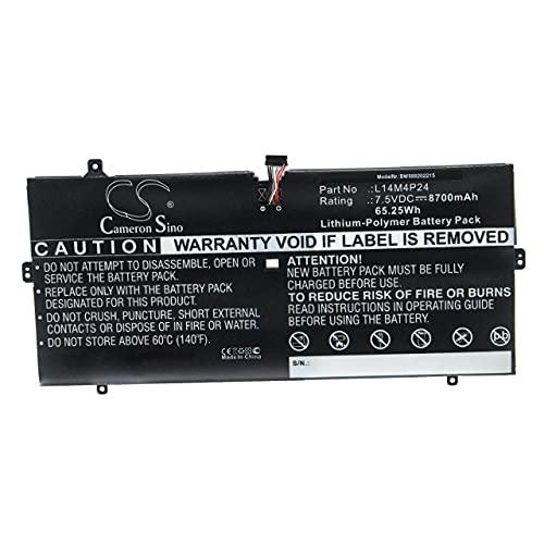 vhbw Batería Recargable Compatible con Lenovo Yoga 4 Pro, 4 Pro (YOGA900), 900, 900-13ISK Notebook (8700 mAh, 7,5 V, polímero de Litio)