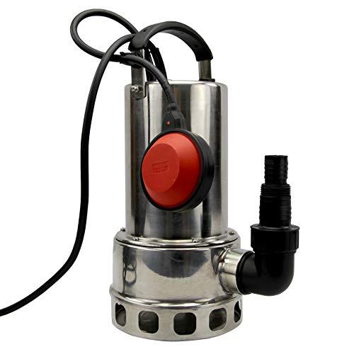 pompe vide cave submersible inox pour eau chargées ou claire 1100 W - Silex®