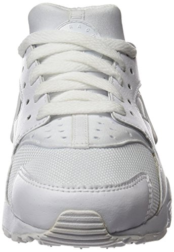 Nike Huarache Run (GS), Zapatillas de Running para Niños, Blanco / Blanco (White / White-Pure Platinum), 38 1/2