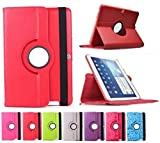 Funda para Tablet Bq Edison 3 10.1' Quad Core. Giratoria 360º Color Rojo