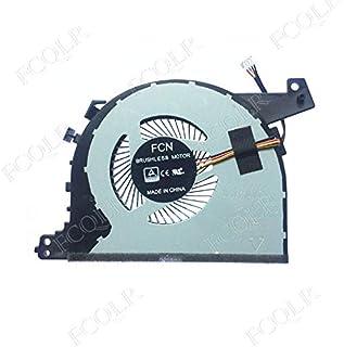 FCQLR Compatible for HP 14-CF 14-CK 14-cm 240-G7 246-G7 Fan TPN-I130 L23189-001 6033B0062401 DFS200005AR0T-FKMY Cooling Fan