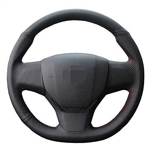 HJPOQZ Cubierta del Volante del Coche, para Citroen C3 C3-XR 2015-2019 C4 2016-2019 Peugeot 408 2014-2019 Viajero 2016-2019