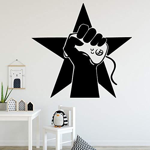 hetingyue Europese spelers muursticker hoofddecoratie sticker slaapkamer kinderdagverblijf decoratie waterdicht speelkamer behang
