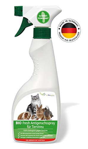 Orthoganic® Katzenstreu Spray - 100{8f60949712f13b852772f078e637fea462c6897d321c04004481ee820680e224} natürliche Inhaltsstoffe - umweltfreundlicher Geruchsentferner für die Katzentoilette - langanhaltende Wirkung gegen Uringeruch - umweltfreundlich & effektiv