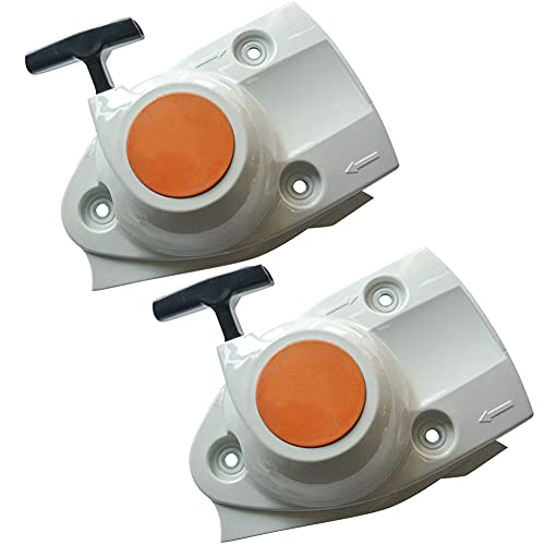 WanQin Recoil Starter Assembly for Stihl Chainsaw TS410 TS420 Concrete Cut-Off Saw 4238-190-0300(2 Pack)