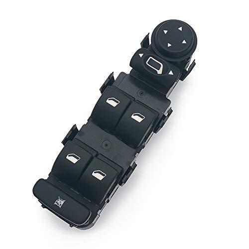 Para Citroen C4 Botonera Elevalunas Mando Elevalunas Interruptor Botones Piezas para Coche 2004-2010 Izquierdo 9 pins