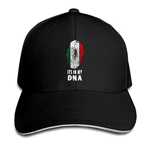 MASHRO mannen en vrouwen zijn in mijn DNA Mexico Mexicaanse vlag honkbal hoed honkbal pet