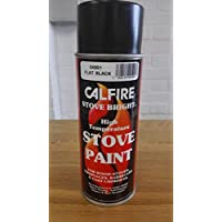 Calfire Stove Bright Stove Paint- Matt Black