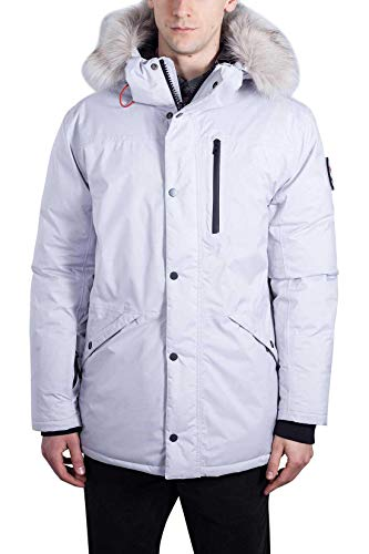Timberland Scar Ridge Exp, Chaqueta para Hombre XL Blanco