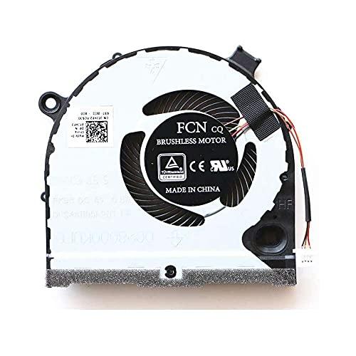 Yuyanshop Ventilador original de la CPU para Dell G3-3579 CN-0TJHF2