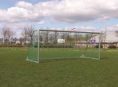 W&H Fußballtor - mobiles Jugendtor - 5,00 x 2,00 m - Vollaluminium