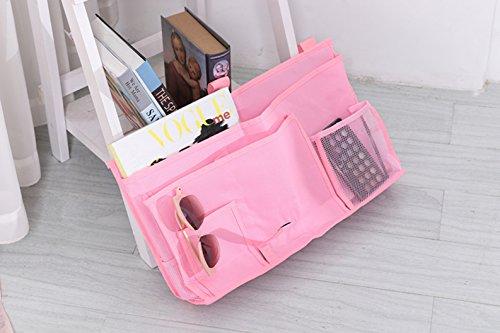Bettorganizer, Utensilo für das Hochbett im Kinderzimmer Pink - ( Buckle Straps Only for Pink Organiser )