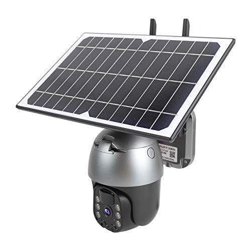 Cámara de Seguridad inalámbrica para Exteriores, WiFi, batería Solar, IP66 a Prueba de Agua, 1080P, Sensor de Movimiento PIR, visión Nocturna, cámara de vigilancia, Audio bidireccional
