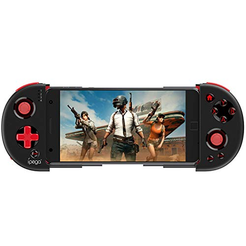 Ipega PG-9087S Wireless Game Controller, Retractable Telescopic PUBG Mobile Controller Joystick Gamepad for Android/iOS Smartphones/Tablets/Smart TV