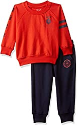 PalmTree Boys Regular Fit Tracksuit (Pack of 2)