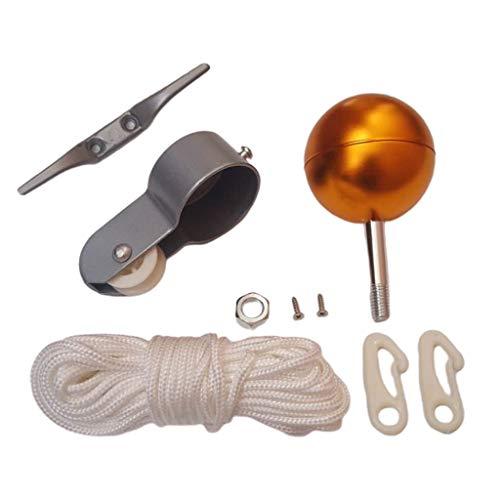 perfk 9 Teiliges Reparaturset Für Fahnenstangen Teile 2