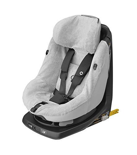 Bébé Confort - Funda para asiento de coche Axissfix y Axissfix Plus, funda de verano de rizo de algodón, color gris claro