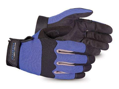 Superior Winter Work Gloves with Fleece Lining - Water Repellant Work Gloves for Cold Weather Conditions (MXBUFL) – Size Large