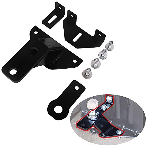 Lonwin Universal Lawn Garden Tractor Hitch Tow Receiver with Support Brace Kit