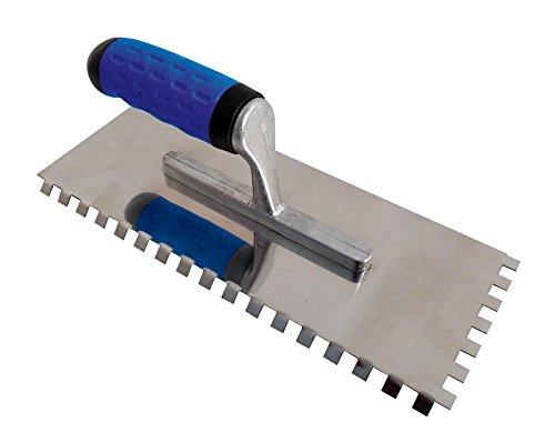 Mejix 180251 Platoir à dents coudées u8x8 mm 280 x 115 mm spécial sols