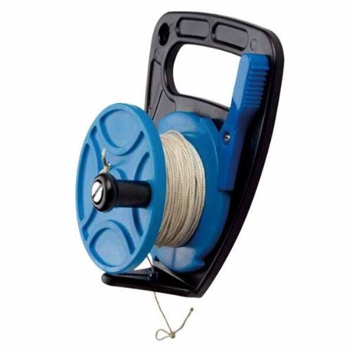 Scuba Max 270 foot Dive Reel Blue with thumb stopper by Scubamax