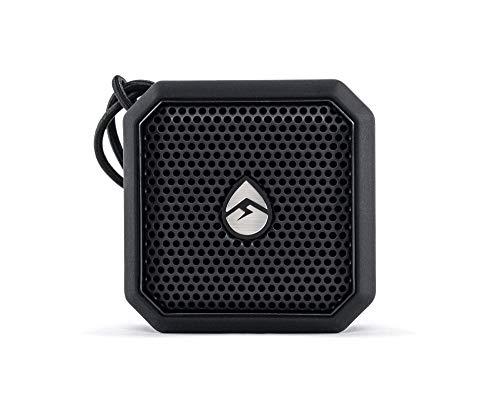 ECOXGEAR EcoPebble Lite GDI-EXPLT501 Rugged Waterproof Floating Portable Bluetooth Wireless 5-Watt Mini Smart Speaker (Black)
