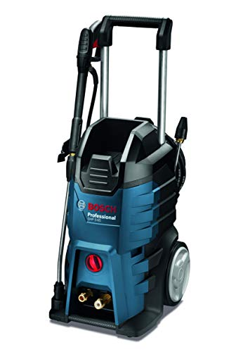 Bosch Professional GHP 5-65 X - Hidrolimpiadora de alta presión (160 bares, 520 l/h, enrollador de manguera, 2 lanzas)