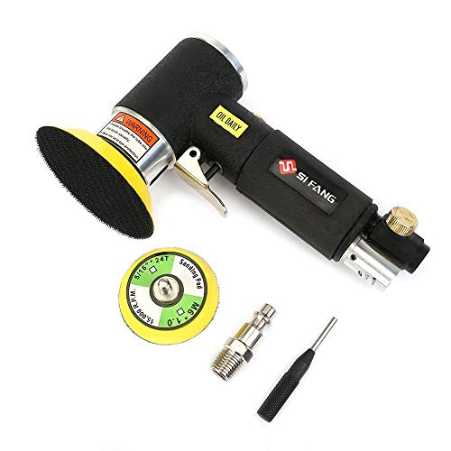 SI FANG Mini Orbital Air Sander