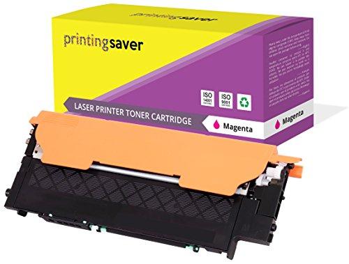 Printing Saver CLT-M406S MAGENTA (1) Toner compatibile per SAMSUNG CLP-360 CLP-365 CLP-365W CLP-368 CLX-3300 CLX-3305 CLX-3305FN CLX-3305W CLX-3305FW Xpress SL-C410W SL-C460W SL-C460FW SL-C467W