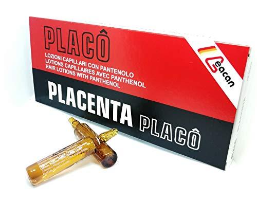 Placenta Placo Ampullen, gegen Haarausfall, intensive Behandlung, 12 x 10 ml