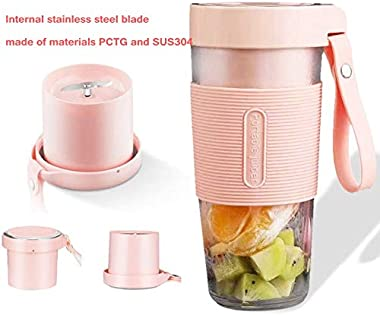 Small portable USB household mini blender, 350ml without BPA, juicer for home, office, sports, travel, outdoor