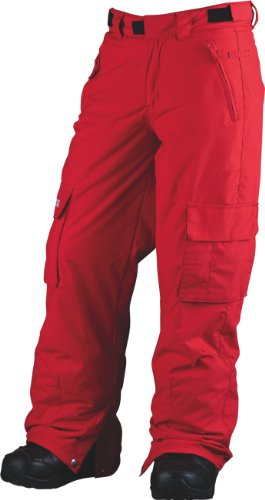 BILLABONG Jungen Snowboard Hose Fringe, fire red, 10, L6PB10BIW2