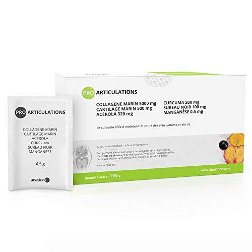 Pro Articolazioni * 195 g / 30 bustine monodose * Collagene tipo I e tipo II, Acerola, Curcuma, Sambuco e Manganese