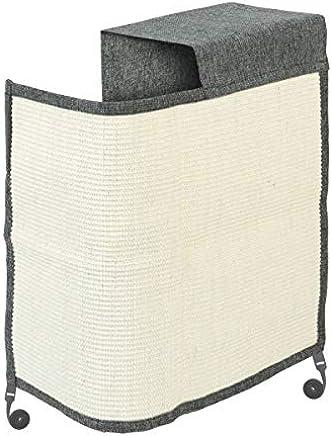 Navaris rascador para Gatos - Protector para Esquina de sofá o sillón - Afilador de uñas de sisal para Mascotas - para el Lado Izquierdo del Mueble
