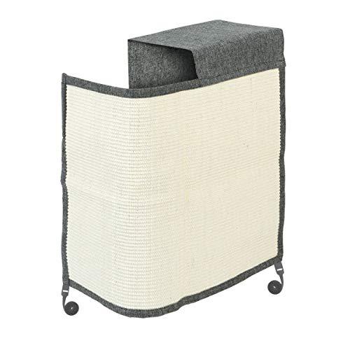 Navaris Katzen Kratzmatte Kratzschutz Sofa Links - Sisal Kratzteppich für Katze - Sessel Couch Katzenkratzmatte - auch für Hunde