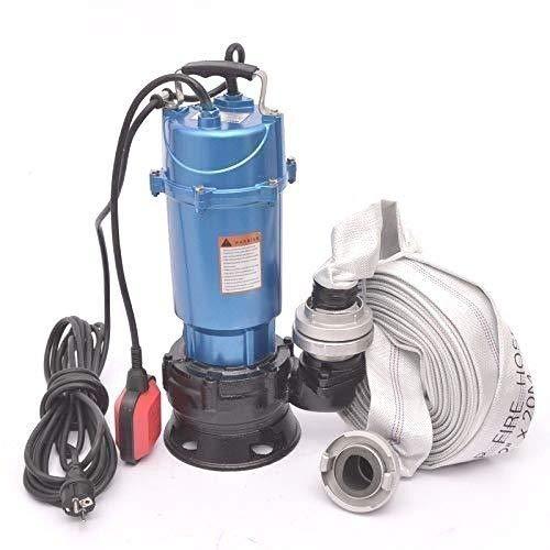 DAMBAT !! Profi !! Fäkalienpumpe Tauchpumpe Schmutzwasserpumpe 1500 Watt Typ MAGNUM4500 + 20m 2