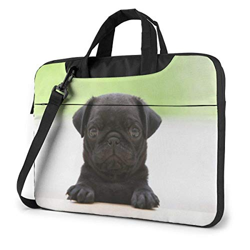Laptoptas computerhoes hoes hoes hoes afdekking, honing hond Office Travel Tablet Schouder Handtas 15,6 inch
