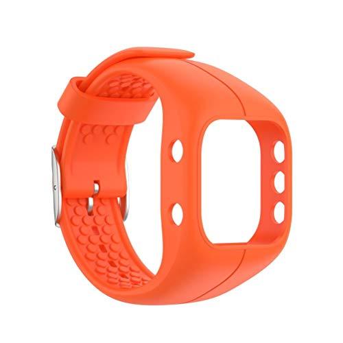 StyleBest Bandas de Reloj de Silicona Bandas de Repuesto Suave y cómoda con Correa de Reloj con Hebilla de Acero Compatible con Polar A300