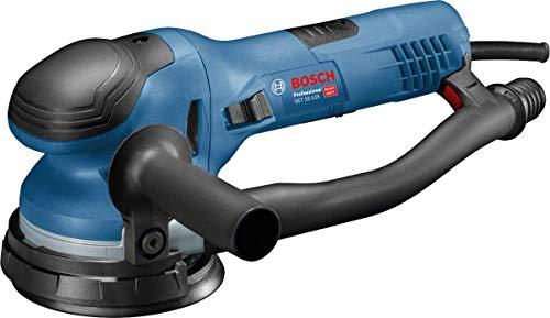 Bosch Professional Exzenterschleifer GET 55-125 (550 W, Leerlaufdrehzahl: 3.300 – 7.300 min-1, im Karton)