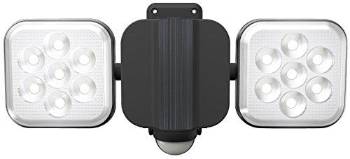 ライテックス 8W×2灯 フリーアーム式 LEDセンサーライト LED-AC2016