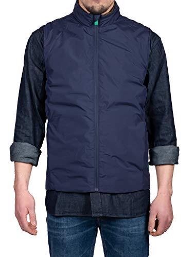 Save The Duck Uomo Abbigliamento Blu D80075M WIND1 XL