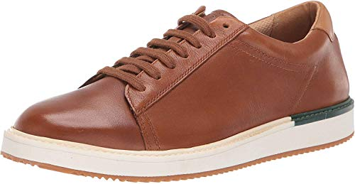 Hush Puppies Men's Heath Sneaker Oxford, British Tan Leather, 13 W US